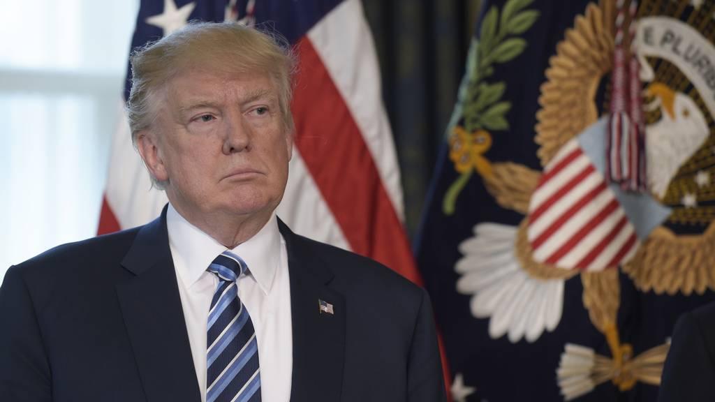 Trump droht Nordkorea mit militärischer Lösung