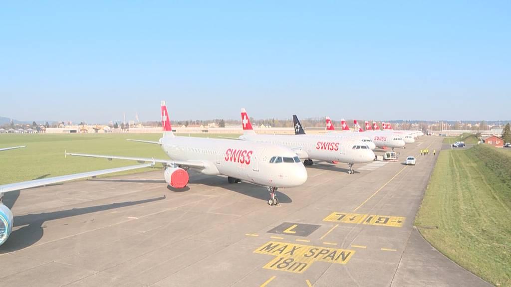Wartungsteam hält Swiss-Flieger in Bestform