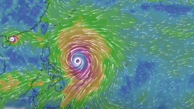 Taifun «Mangkhut» nimmt Kurs auf die Philippinen