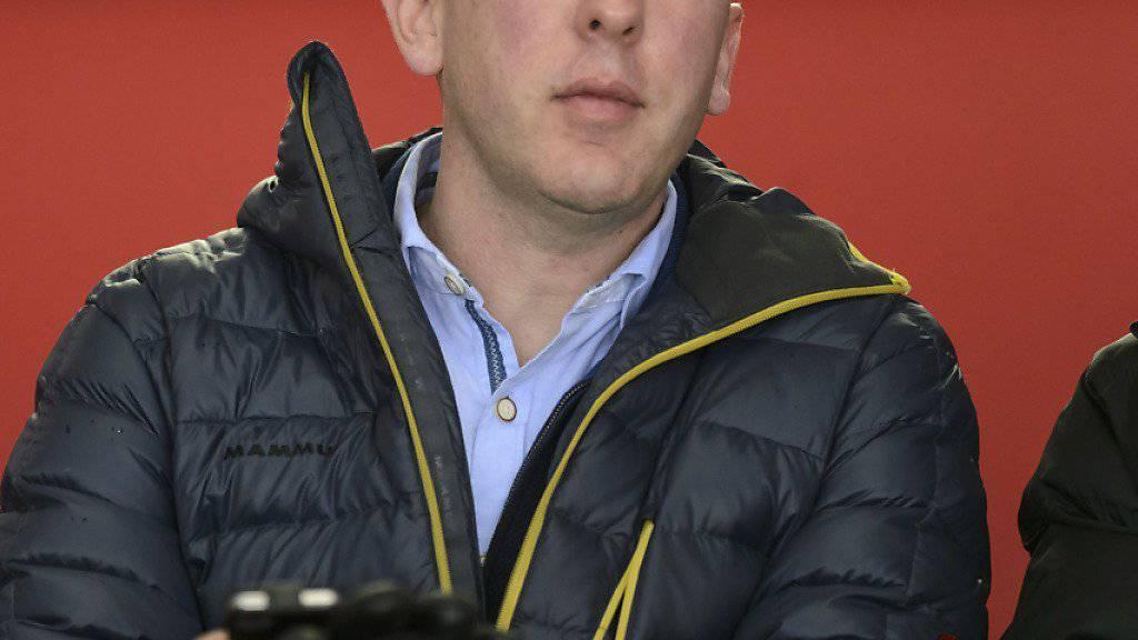 Interims-Coach John Fust musste sechs neue Spieler nachnominieren