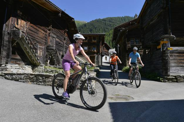 Radtour in Obergams
