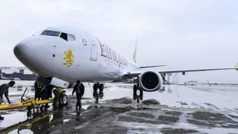 Eine Maschine der Ethiopian Airlines stürzte vor zwei Wochen ab.