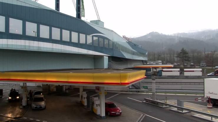 Die Autobahn-Raststätte Würenlos. (Archiv)