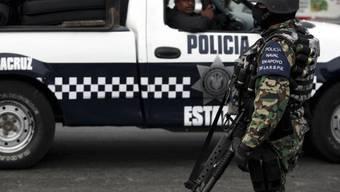 Polizei in der mexikanischen Hafenstadt Veracruz (Archiv)