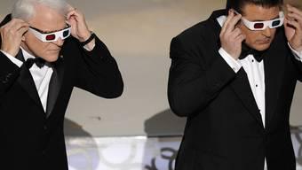 Einmal und nie wieder: Alec Baldwin (r) und Steve Martin 2010 als Oscar-Moderatoren (Archiv)