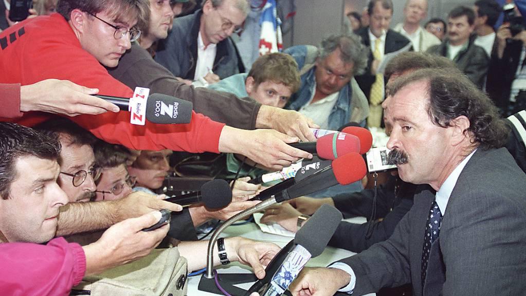 Artur Jorge sorgte mit seiner Nicht-Nomination von Alain Sutter und Adrian Knup für Schlagzeilen.