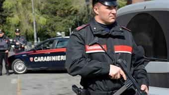 Polizisten in der Lagunenstadt Venedig. (Archiv)