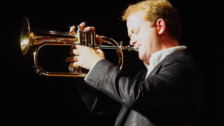 Bandleader und Trompeter Dani Felber