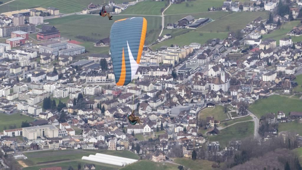 Der Bezirk Schwyz tauchte 2020 finanziell ins Minus. (Archivbild)