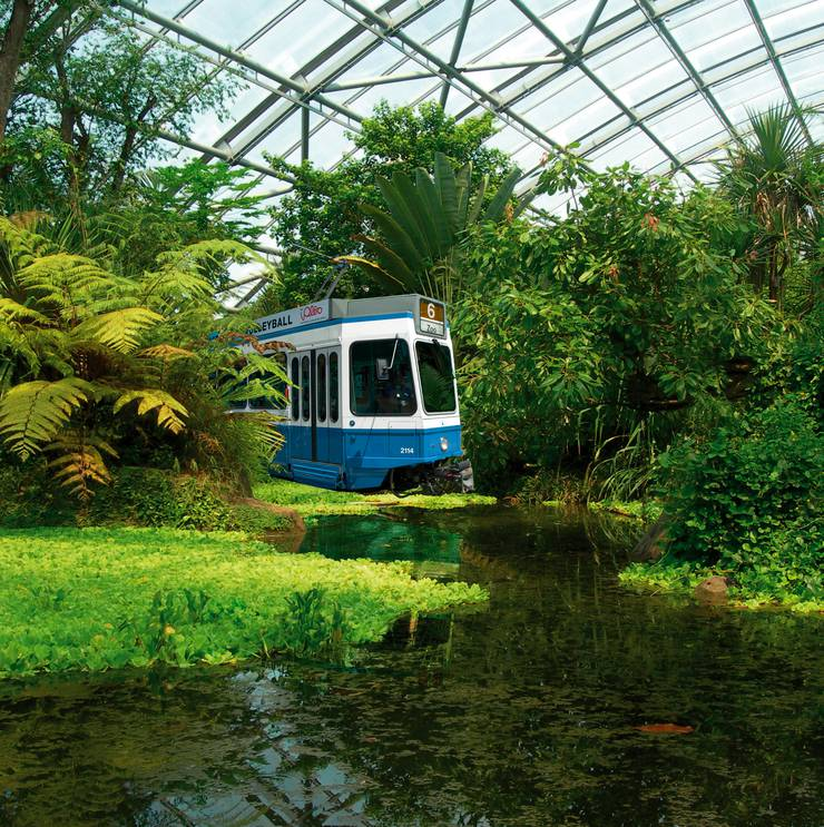 Visualisierung für die Initiative «Mit dem Tram direkt zum Zoo».