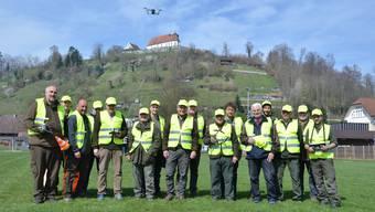 Drohnenschulung Stiftung Wildtiere Aargau (06.04.2019)
