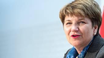 Weibliche Verteidigungsattachés gesucht: Verteidigungsministerin Viola Amherd.