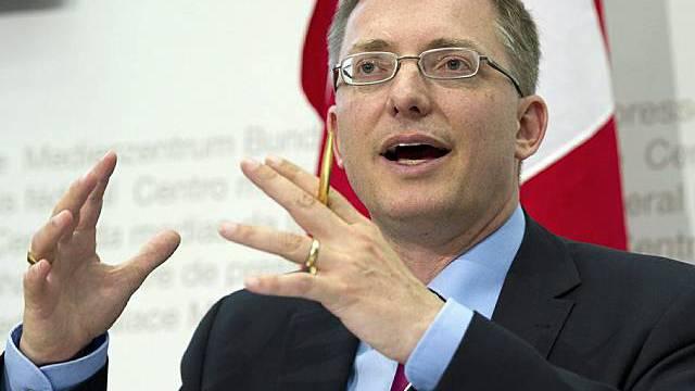 Nachrichtendienst-Direktor Markus Seiler