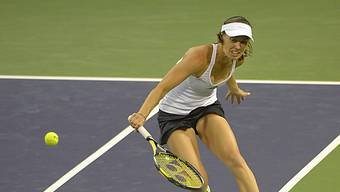 Hingis steht mit ihrer Doppelpartnerin Lisicki im Final