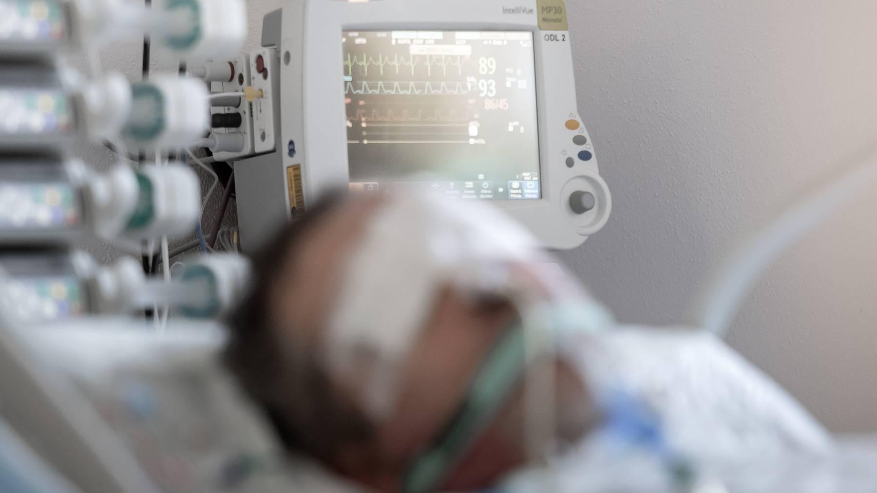 Das Tessin war von der Pandemie besonders stark betroffen: Als die erste Welle ihren Höhepunkt erreichte, lagen Hunderte im Spital.