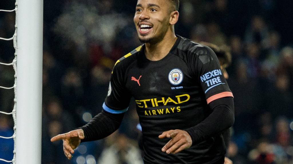 Manchester City gewinnt dank Gabriel Jesus
