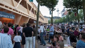 Stadtfestumfrage zum letzten Party-Wochenende
