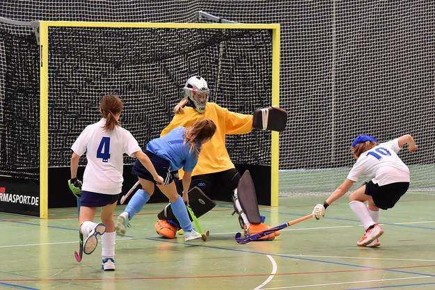 Spiel um Platz 3 in der U14-Meisterschaft: HC Olten I gegen HC Olten II