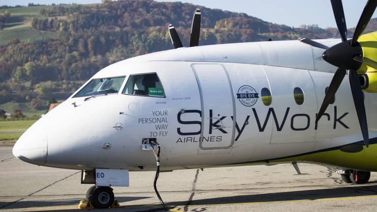 Die Berner Fluggesellschaft Skywork ist pleite.