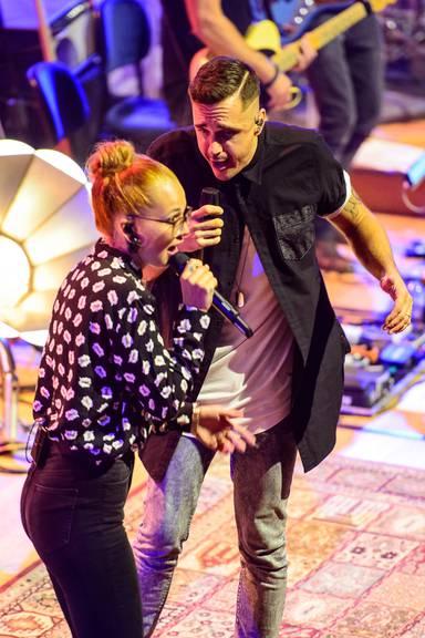Radio Pilatus Music Night 2015 mit Seven bei Stefanie Heinzmann und dem 21st Century Orchestra im KKL Luzern.