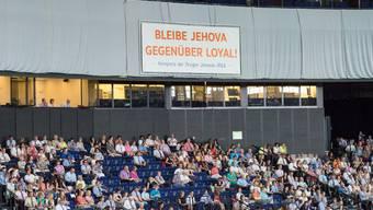Sommerkongress der Zeugen Jehovas im Zürcher Hallenstadion