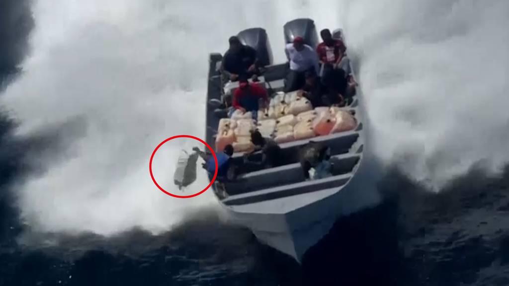US-Küstenwache stellt 1'000 Kilo Kokain sicher