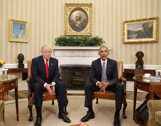 Beste Freunde sind sie nicht, das hatten sie während des Wahlkampfes klargemacht. Entsprechend verhalten war das Treffen.