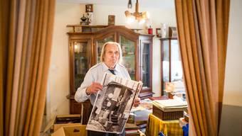Das Staatsarchiv hat das Werk des Reporters Heinz Fröhlich gesichert.