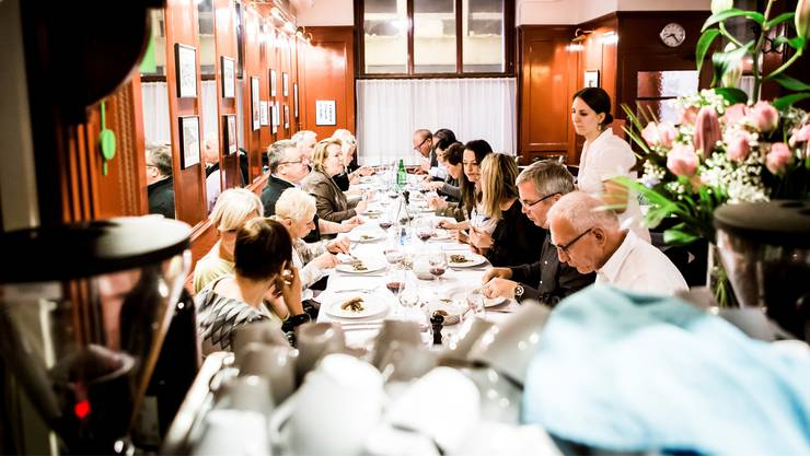 Viermal hat das «Isebähnli» in Baden zur Gourmet-Metzgete eingeladen, viermal war das Lokal bis auf den letzten Platz ausgebucht.
