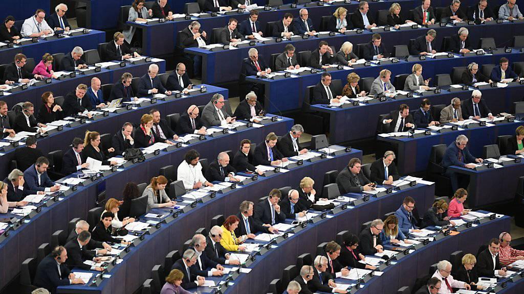 Die 28 EU-Mitgliedstaaten wählen ihre 751 Abgeordneten ins EU-Parlament. (Archivbild)