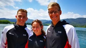 Federico Salghetti, Samira Arnold und David Radam wurden für die Jugend-Europameisterschaften selektioniert.