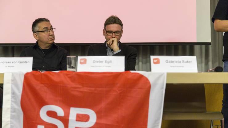 Dieter Egli Parteitag der SP mit der Ständeratsnommination 2018 im Bullingerhaus in Aarau.