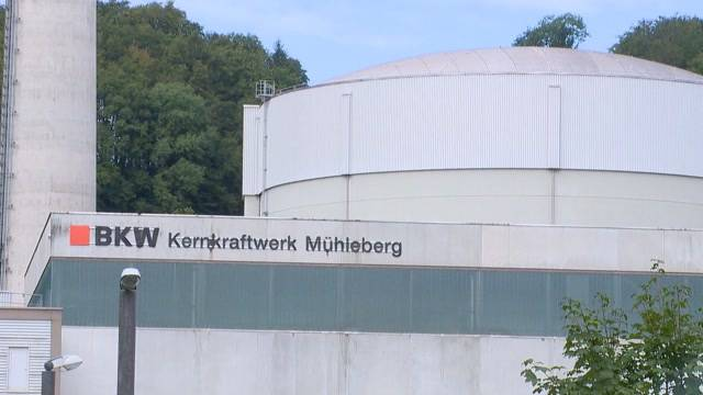 AKW Mühleberg wegen Störung abgeschaltet