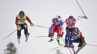 Skicross bietet Spektakel. (Archivaufnahme)
