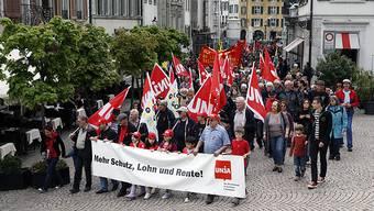 In Solothurn marschierten rund 350 Personen mit.