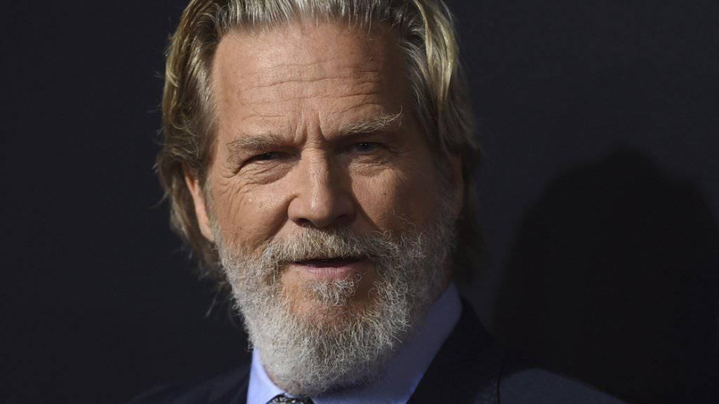 «Wow - was für eine Ehre». So cool hat US-Schauspieler Jeff Bridges die anstehende Ehrung für sein Lebenswerk an den Golden Globe Awards auf Twitter kommentiert. (Archivbild)