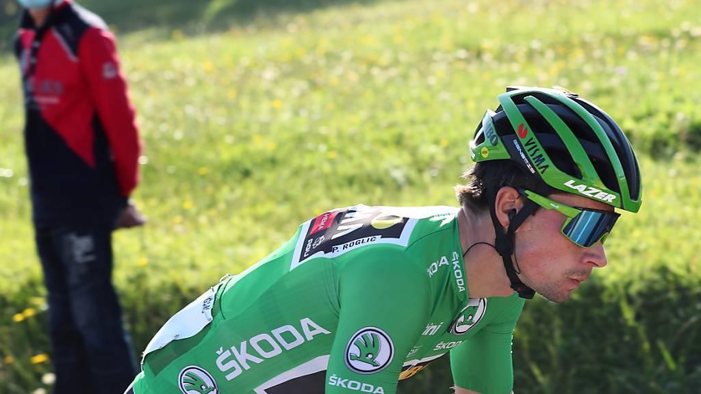 Primoz Roglic erkämpft sich im Einzelzeitfahren der Vuelta das Leadertrikot zurück