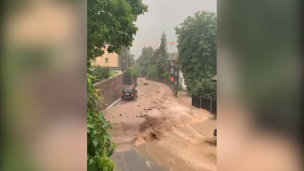 Überschwemmungen treffen das Südtirol