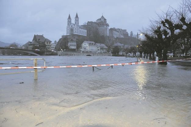 Hochwasser in Aarburg