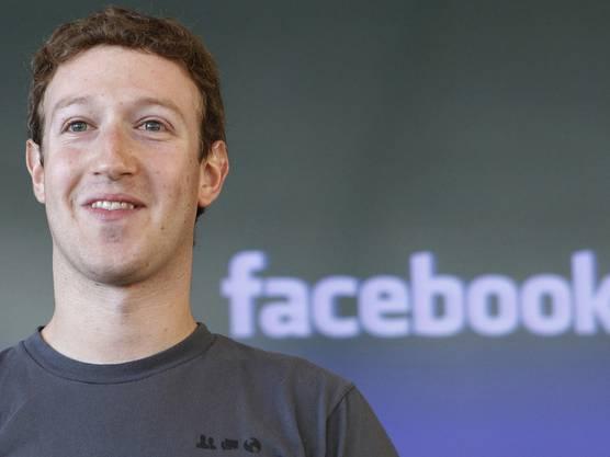 Goldjunge: Bereits vor dem Börsengang gehört Gründer Marc Zuckerberg zu den reichsten Menschen der Welt (Archiv)