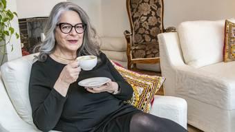 Eine Tasse Kaffee macht Lucia Miggiano glücklich.