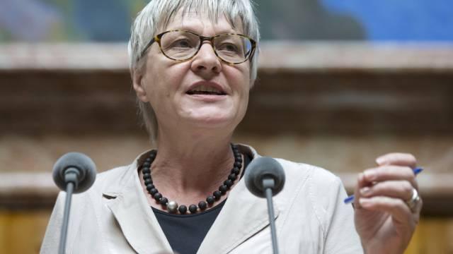 Die Zürcher BDP-Nationalrätin Rosmarie Quadranti im Parlament