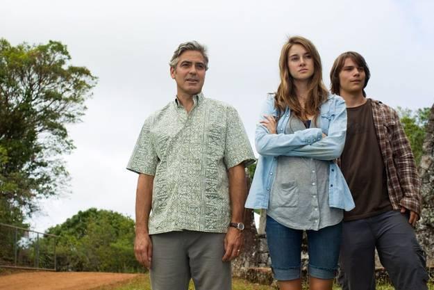 George Clooney in «The Descendants»