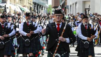 Pipes and Drums 2018