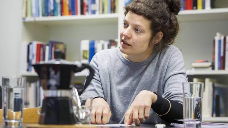 Reina Gehrig (33) ist seit 2015 alleinige Geschäftsführerin der Solothurner Literaturtage. In knapp drei Wochen findet die 38. Ausgabe statt.
