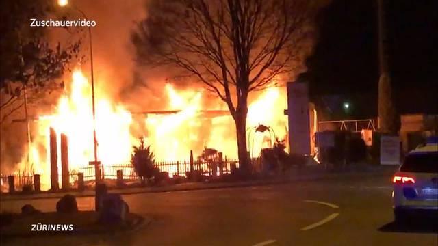 «Aufgrund der Ermittlungen müssen wir von Brandstiftung ausgehen.»