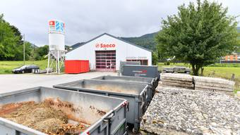 Bereits heute nutzt die Gemeinde den künftigen Werkhof-Standort als Lagerplatz.