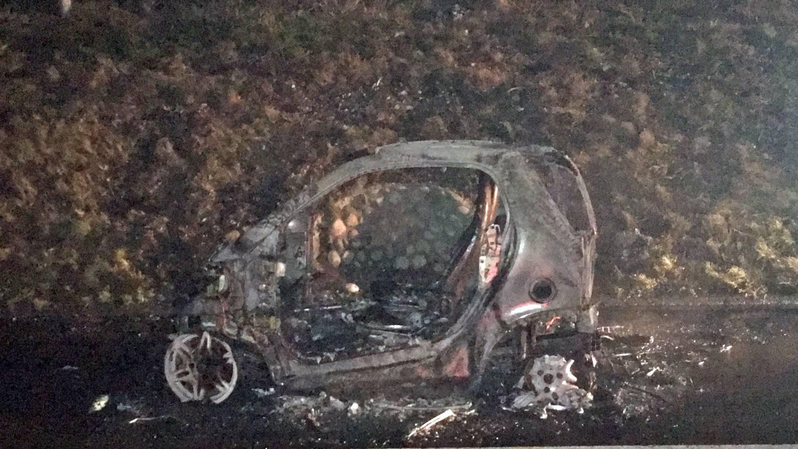 Fahrzeugbrand bei Eich