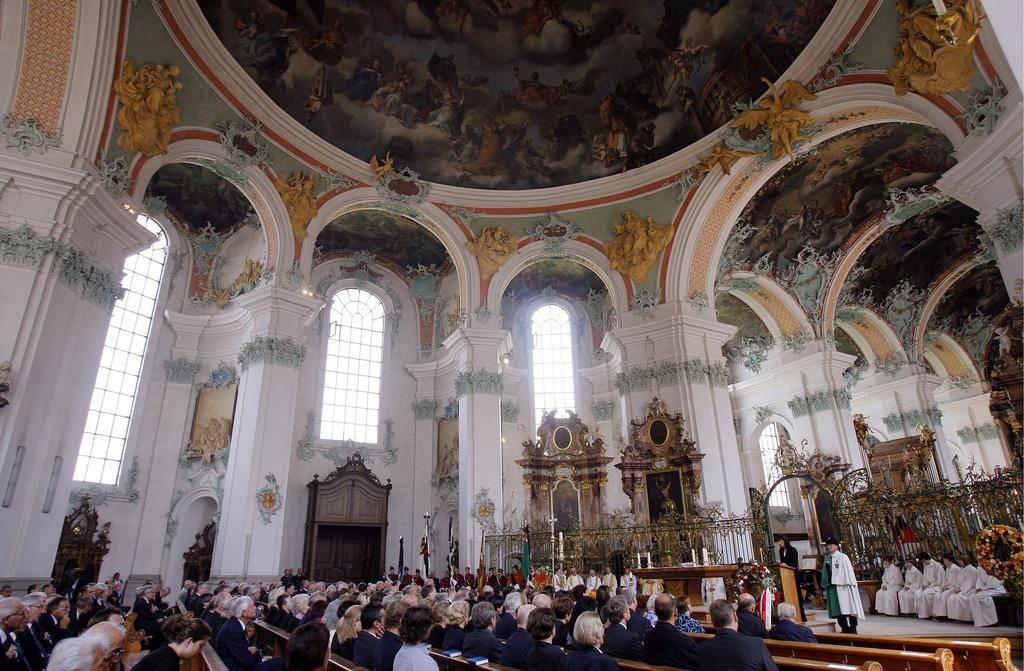 Die St.Galler Verantwortlichen wollen sich nach dem Brand der Notre-Dame informieren, ob etwas verbessert werden kann. (© Keystone)