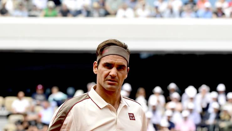 Roger Federer fühlt sich manchmal ganz schön alt.